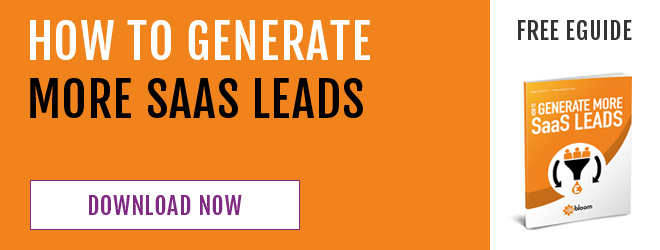 free eGuide: how to generate more saas leads